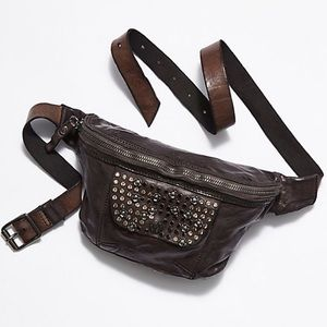Free People Campomaggi NWT Leather Belt Bag